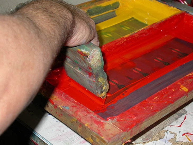 Serigrafia e tampografia